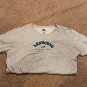 Adidas girls lacrosse t shirt